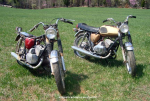 Pair of GTR's before restoration