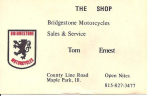 Business Card  THE SHOP