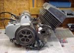 BS350 GTR  Restoration started: First engine photo