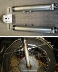 Refinished lower forks