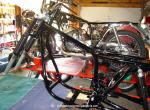 350 Restoration: Frame parts going back together