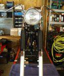 350 Restoration: Forks back on frame