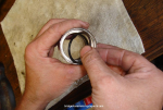 O-ring removal and refitting