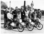 Team Photo: Bridgestone Race Team 1966