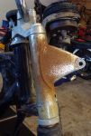 BS350 GTR  Restoration started: Disassembly of cycle