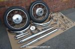 Bridgestone 350 GTR re chromed parts.