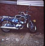 Bridgestone 100 Sport 1968 model