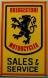 Dealer metal sign